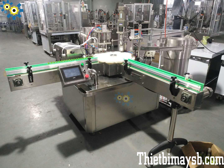 máy chiết rót tinh dầu serum mỹ phẩm